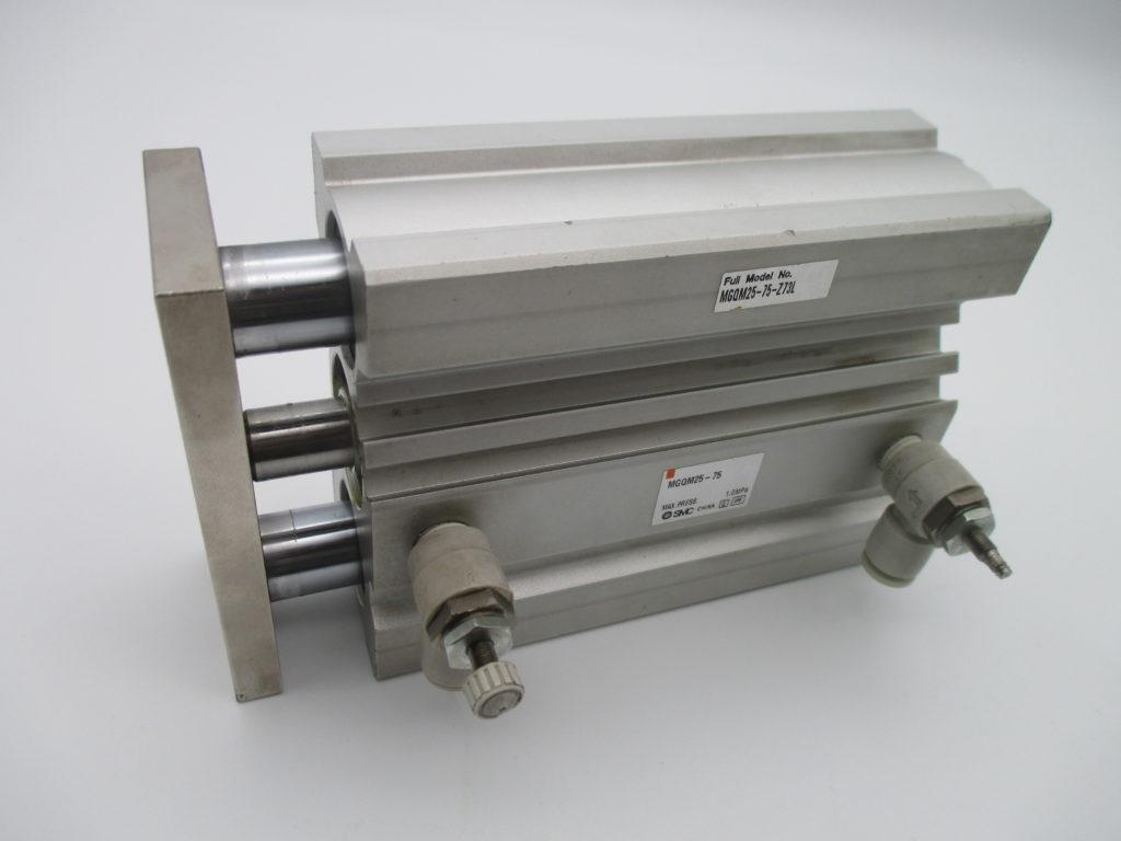 ガイド付薄型シリンダー - [MGQM25-75]イメージ