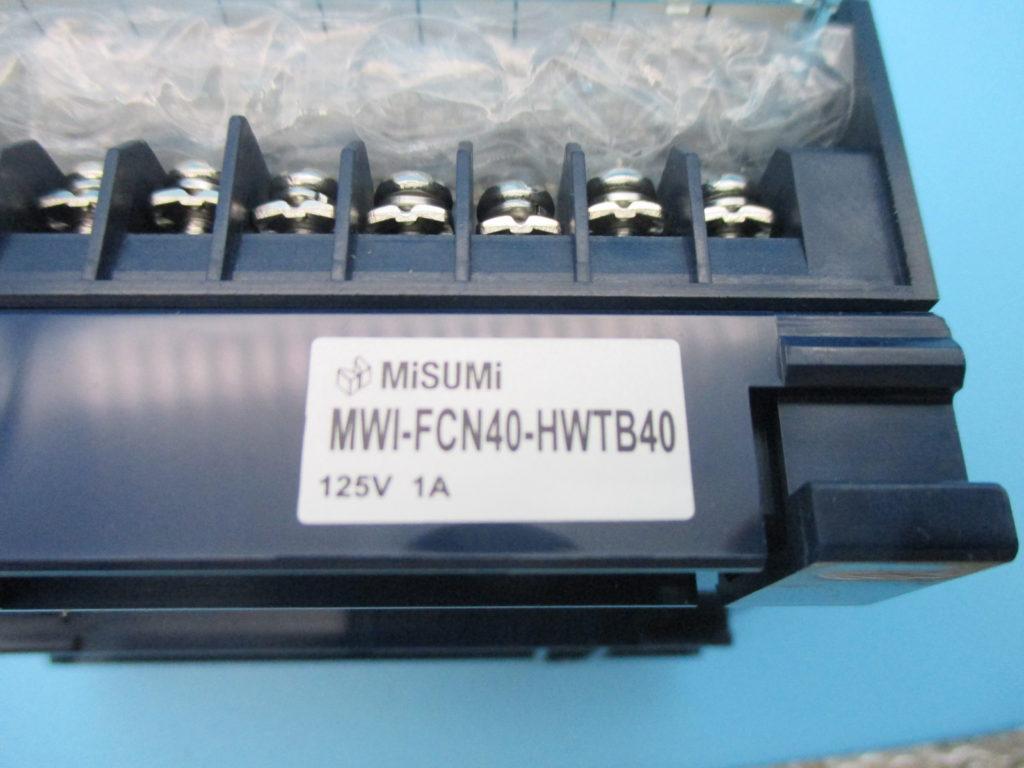 インターフェイス(コネクタ端子台) - [MWI-FCN-HWTB40(2個)]イメージ2