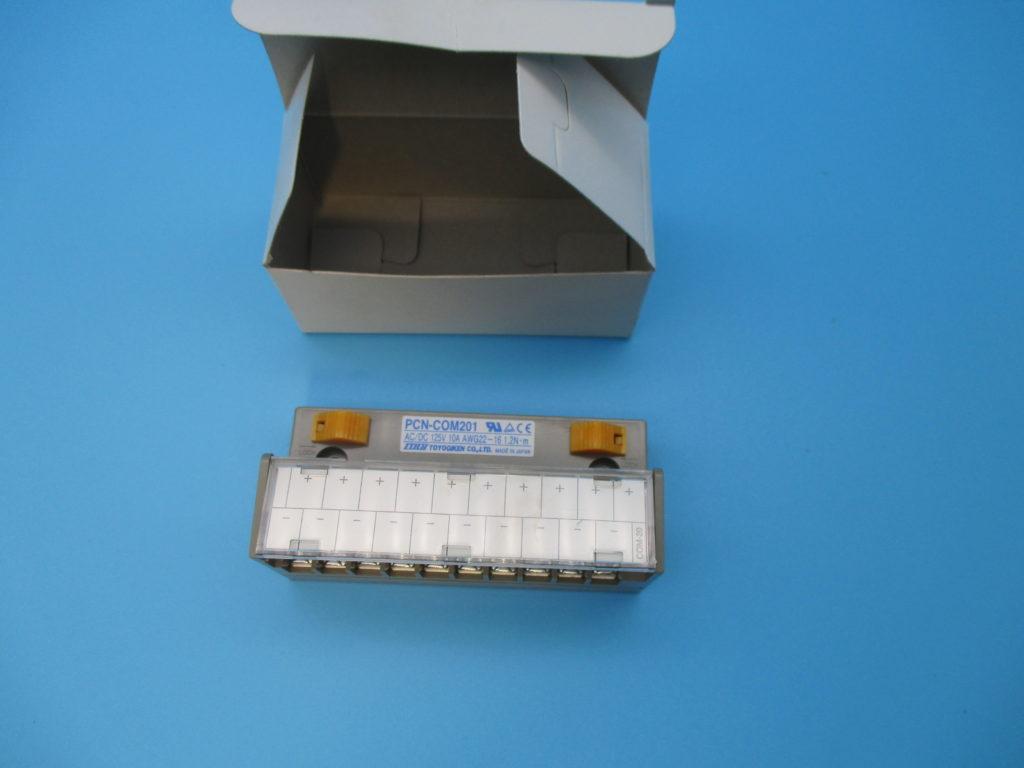 コモン端子台 - [PCN-COM201(2個)]イメージ