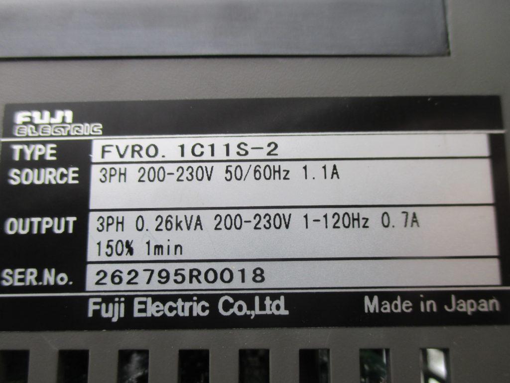 インバータ - [FVR0.1C11S-2]イメージ2