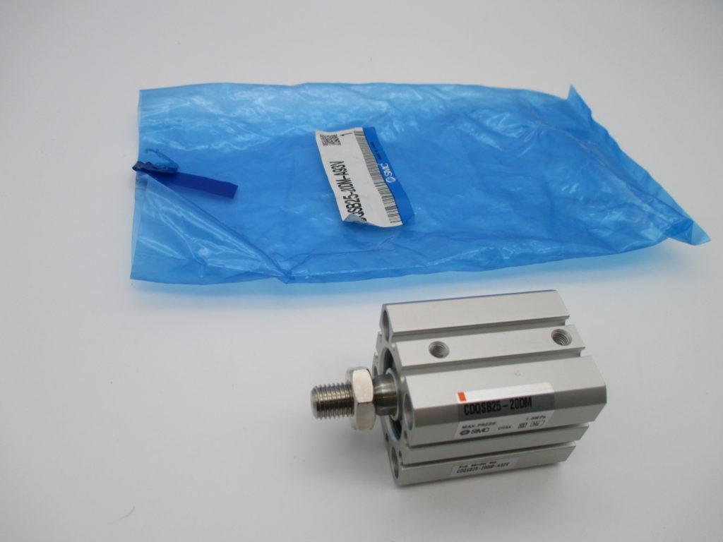 薄型シリンダー - [CDQSB25-20DM-A93V]イメージ