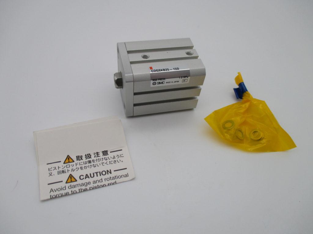 薄型シリンダー - [CDQSKB25-15D]イメージ