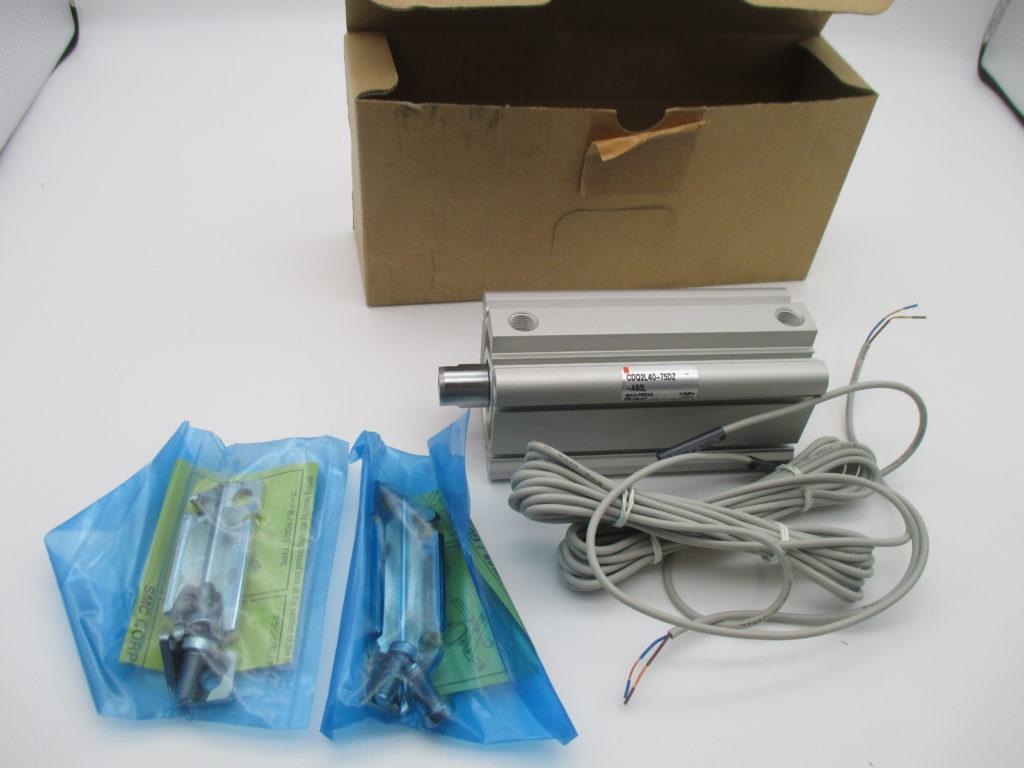 薄型シリンダー - [CDQ2L40-75DZ-A93L]イメージ
