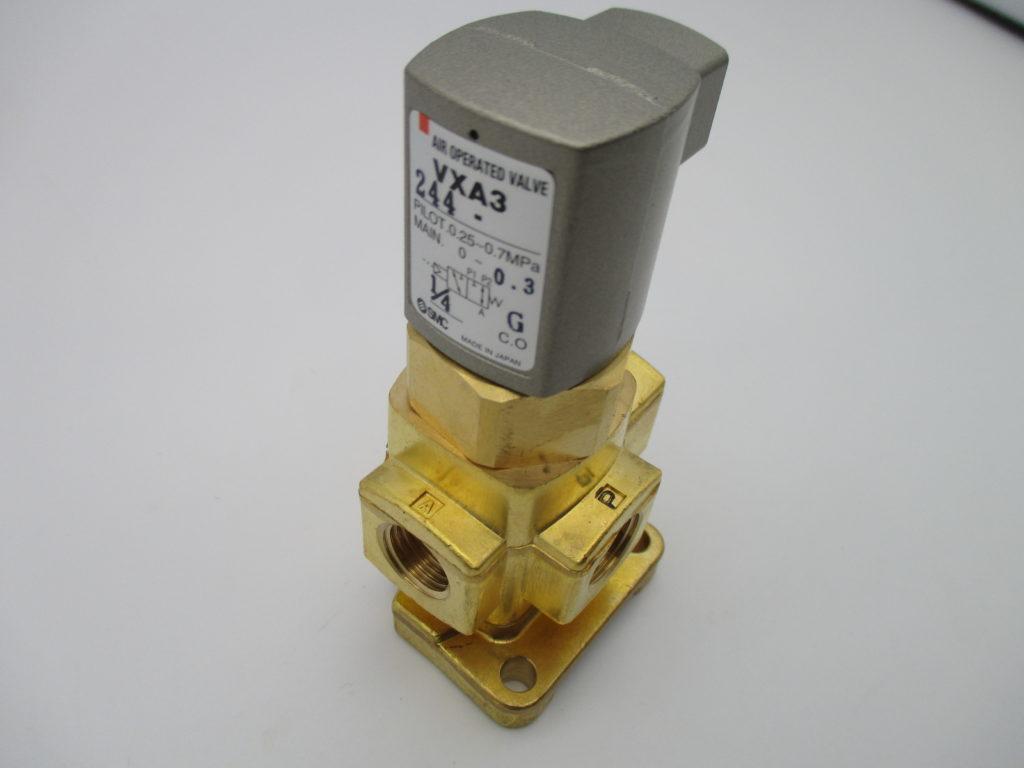 直動形3ポートエアオペレートバルブ - [VXA3244-02-B]イメージ