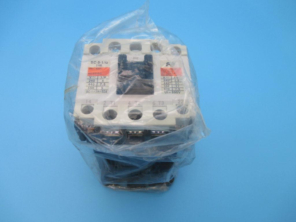 電磁接触器 - [SC-5-1/G コイルDC100V 1A1B(2個)]イメージ