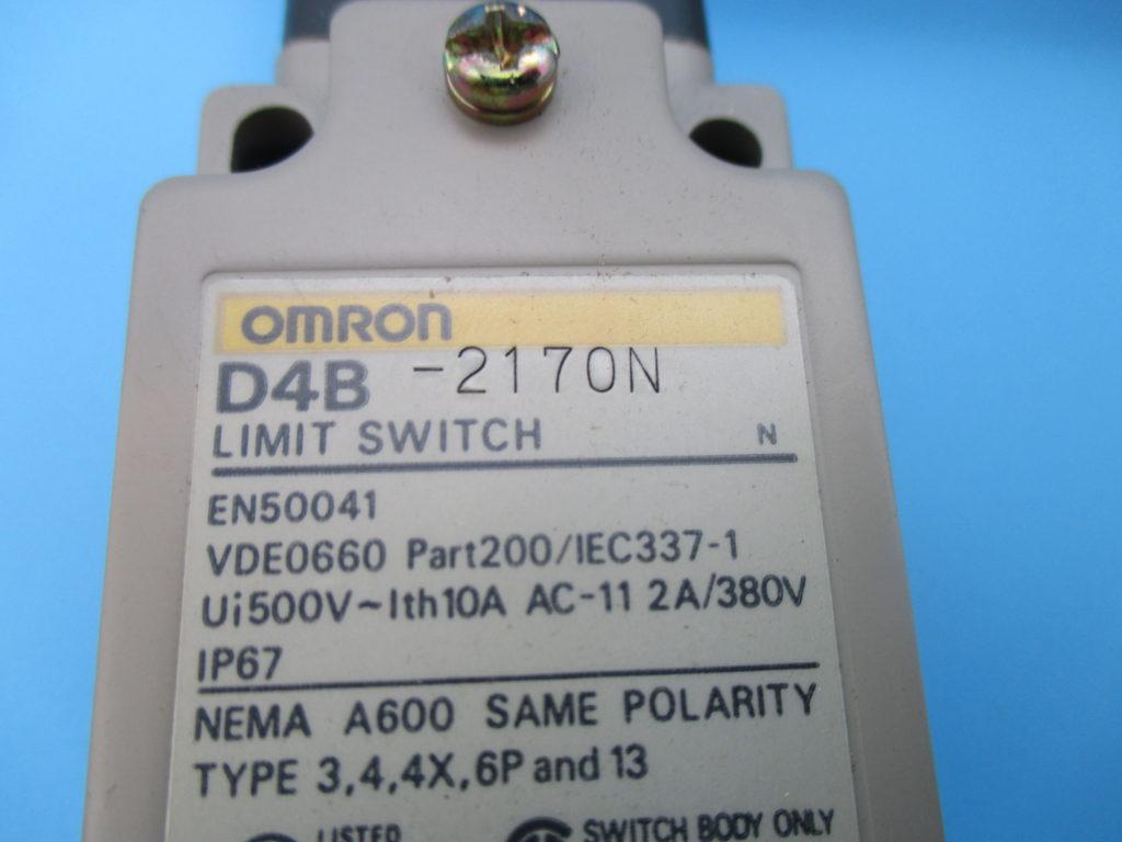 セーフティ・リミットスイッチ - [D4B-2170N]イメージ2