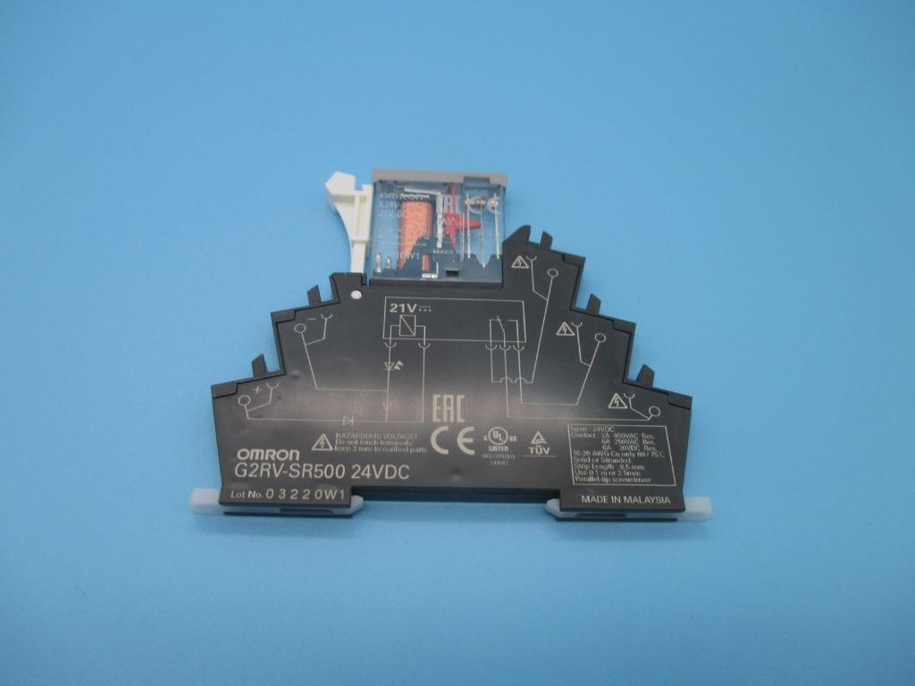 リレー+ソケットセット - [G2RV-SR500 DC24]イメージ
