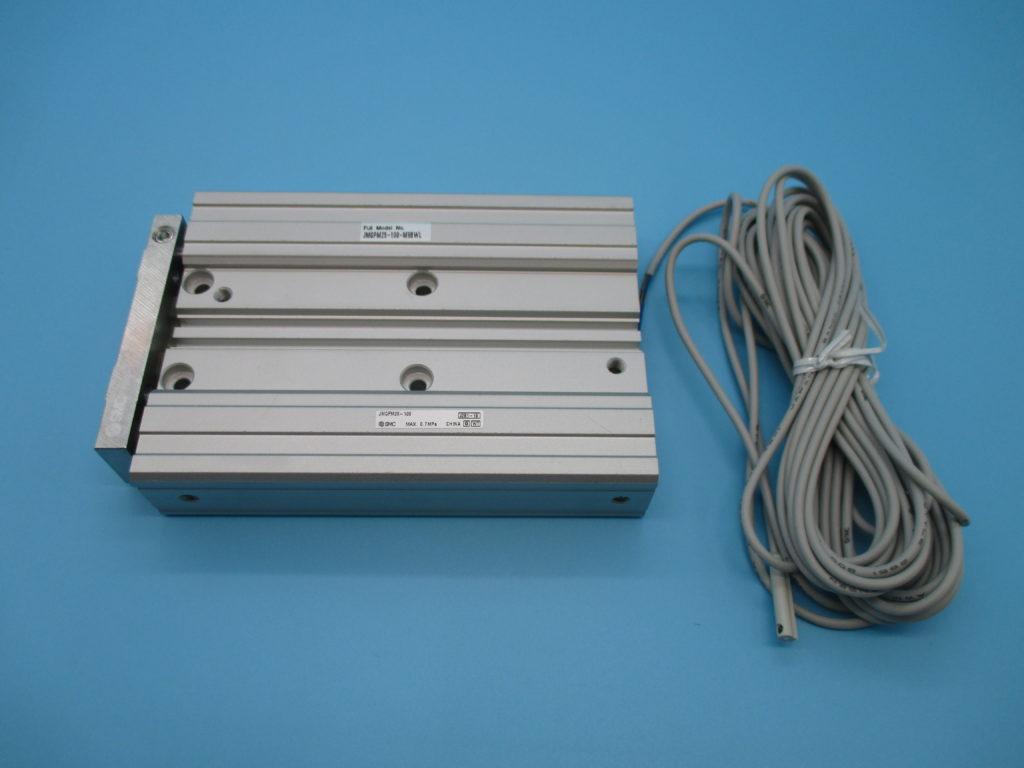 ガイド付薄型シリンダ - [JMGPM25-100-M9BWL]イメージ