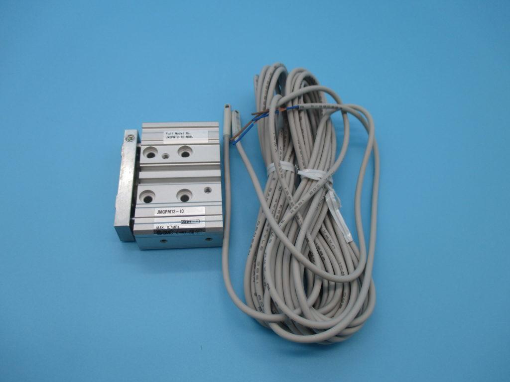 ガイド付薄型シリンダ - [JMGPM12-10-M9BL]イメージ